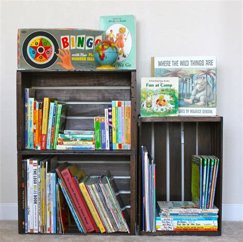 williams diy crate bookshelf
