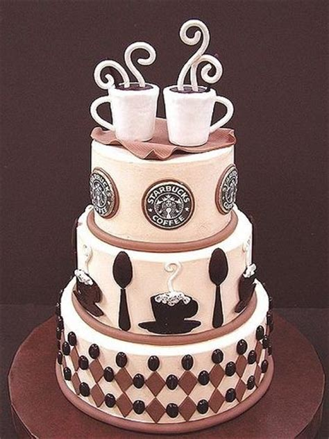 Starbucks Coffee Wedding Cake Pictures, Photos, and Images for Facebook, Tumblr, Pinterest, and