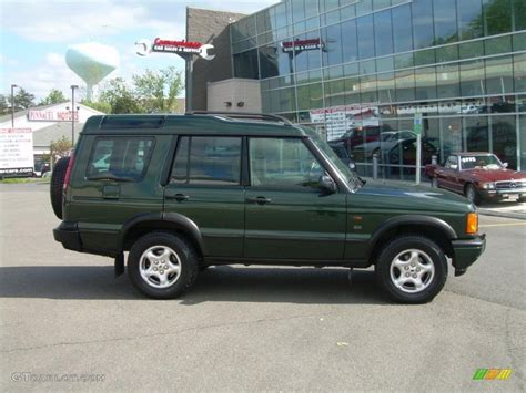 2000 land rover green 2001 epsom green land rover discovery ii se 29266085