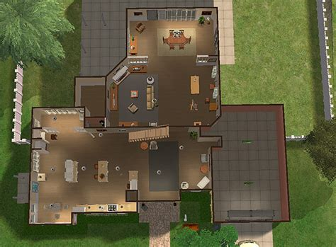 Floor Plan Layouts mod the sims wisteria lane mayer house