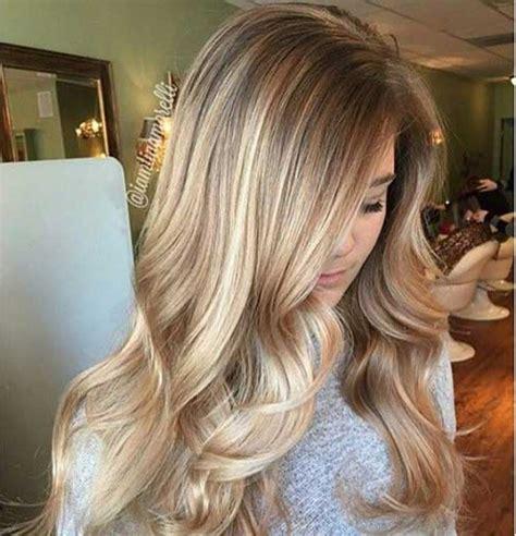 hairstyles blonde on bottom dark on top balayage rubio