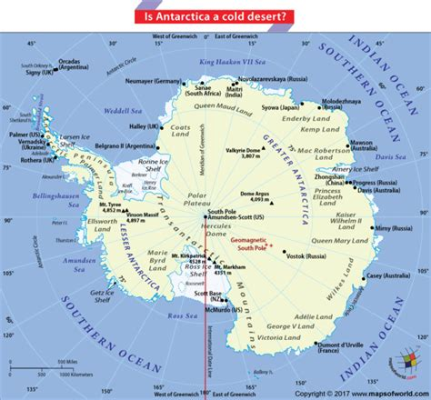 antarctica map with country names and capitals antarctica is a desert answers