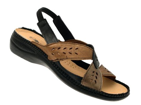 ladies comfort sandals uk womens comfort flexi cushioned wide low wedge shoes