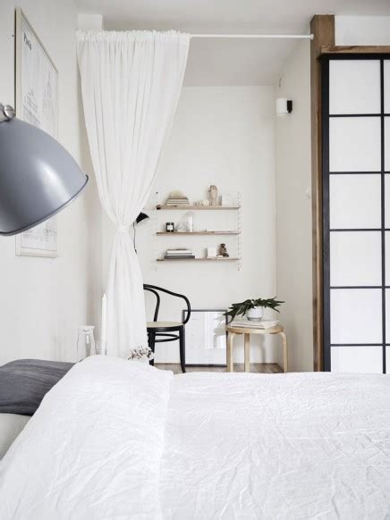 möbel skandinavischer stil wohnideen wohnzimmer braun lila