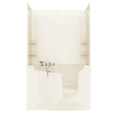 adhesive bathtub walls nova heated rart wheelchair accessible 5 ft walk in