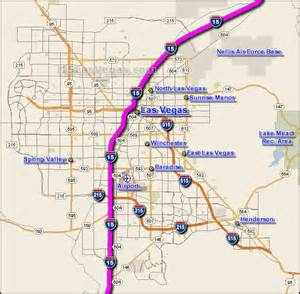 Las Vegas Traffic Map i 15 las vegas traffic maps and road conditions