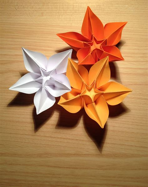 types of origami flowers file origami flower carambola jpg wikimedia commons