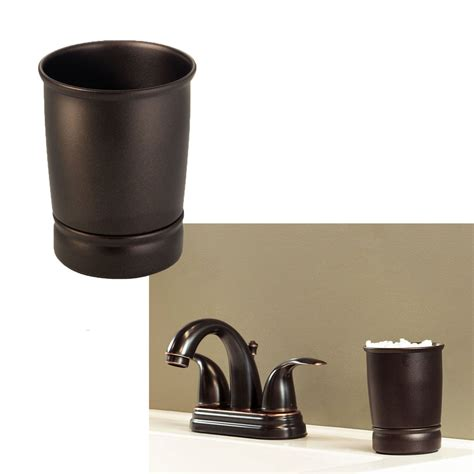 Bathroom Tumbler Cup Bath Sink Accessories Oil Rubbed Bathroom Accessories Bronze