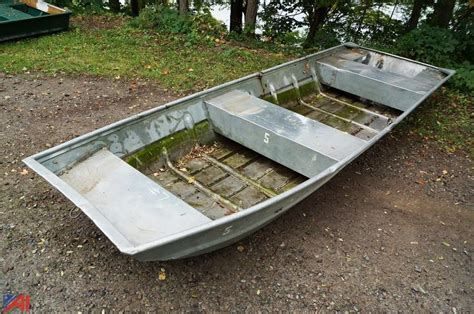 sea nymph aluminum jon boats genesee county fish game surplus 6157