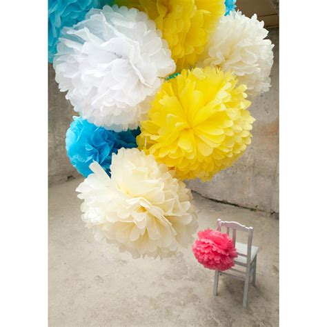 How To Make Decorative Paper Balls - pom decorative paper balls by engel lapadd