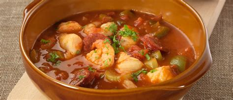 seafood gumbo food in a minute