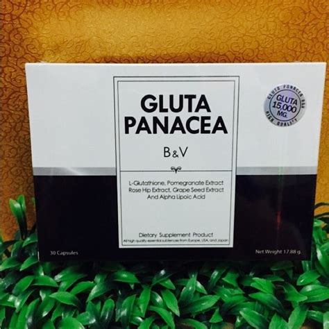 Gluta Panacea By Pang Guarantee Original silustarithaibeautyshop