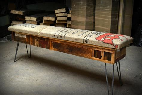 recycled wood bench reclaimed wood storage bench adorable home