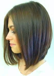 pics of hair cuts were the front is and the back is long bob haircuts back view bobs long bob hairstyles