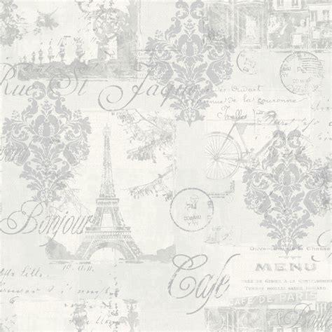 grey wallpaper shabby chic arthouse louvre shabby chic silver paris french parisian