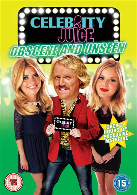 celebrity juice new series 18 celebrity juice obscene and unseen series 3 dvd zavvi