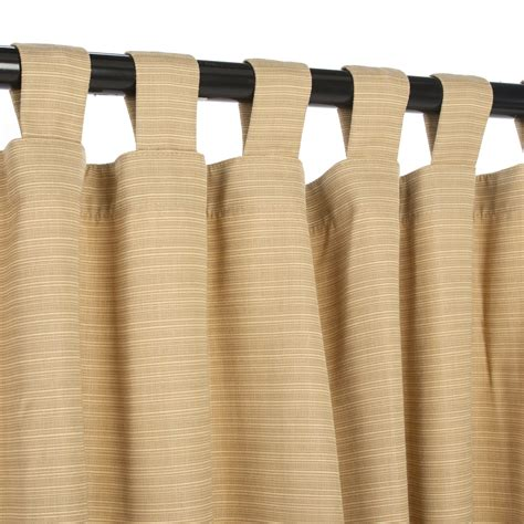 outdoor bamboo curtains dupione bamboo sunbrella outdoor curtains with tabs