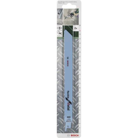 Mata Gergaji Saber Saw Sabre Saw Blade Bosch S 123 Xf Original B30 N09 bosch 2609256708 sabre saw blade s1122 ef hcs metal 228mm 18tpi rapid