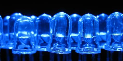 blue light emitting diode out of the blue huffpost