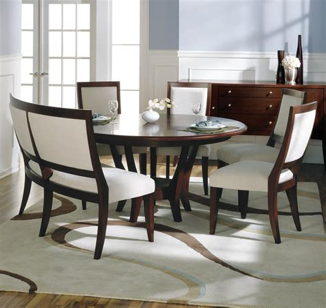 dining room table with a bench picking the perfect kind of dining room table with bench