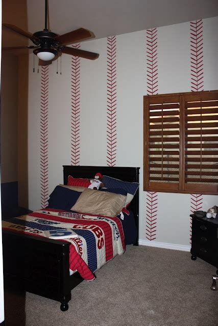 baseball room if i m not brave enough to paint curved baseball stitches