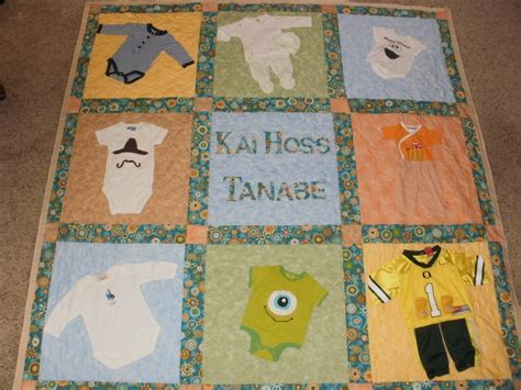 quilt pattern with baby clothes baby clothes quilt for brian