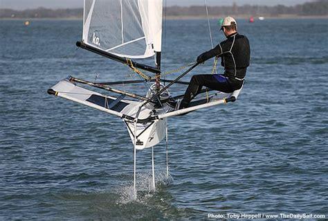 sailing boat moth foiling sailboats google search sail pinterest