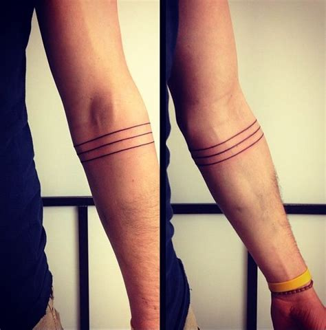 black armband tattoo 21 forearm band tattoos