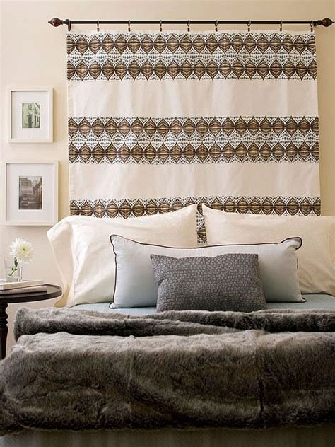 how to use headboard ways to use sheer curtains and valences
