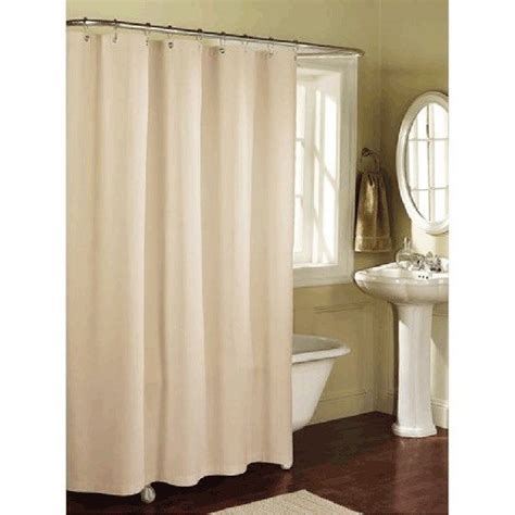 standard length of shower curtain beautiful linen blend shower curtain standard size by