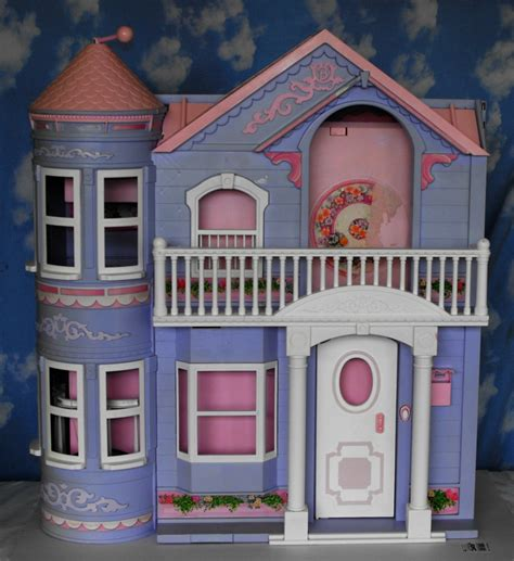 barbie dream house barbie doll 12 13 sold barbie dream house dollhouse 2000 purple working elevator