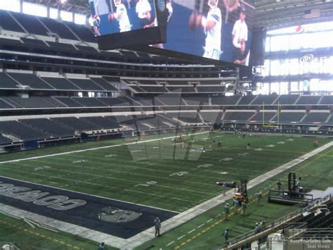what s section 18 at t stadium section 243 dallas cowboys rateyourseats com