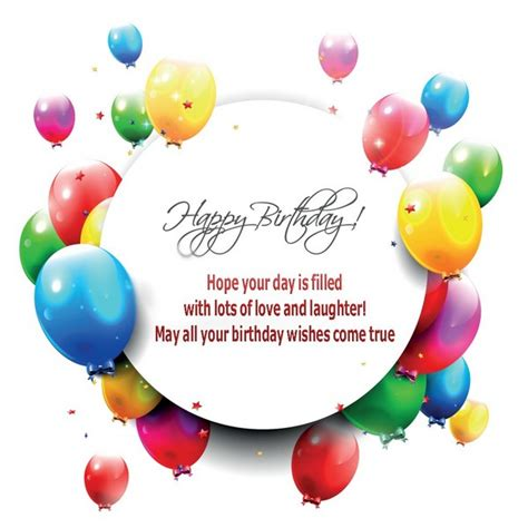 Happy Birthday Wishes For Your 110 Unique Happy Birthday Greetings With Images My Happy