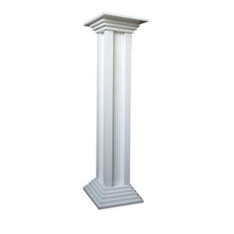 decorative columns home depot home bazaar column pedestal hb 2008p the home depot