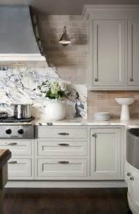 light grey cabinets in kitchen light grey kitchen cabinets subway tile backsplash