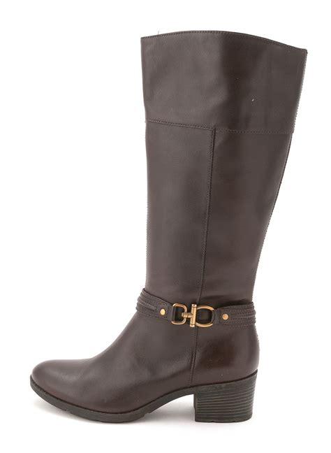 knee high cowboy boots bandolino womens ulla almond toe knee high cowboy boots ebay