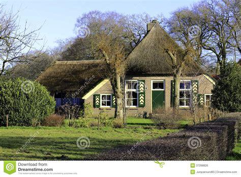 lotus garten hagen holenderski dom wiejski obraz royalty free obraz 37268826