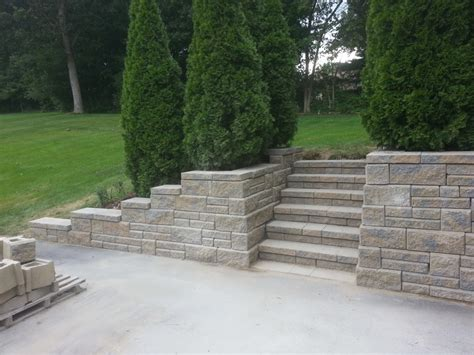 Concord Retaining Walls Block Retaining Wall Methuen Ma Concord Stoneworks