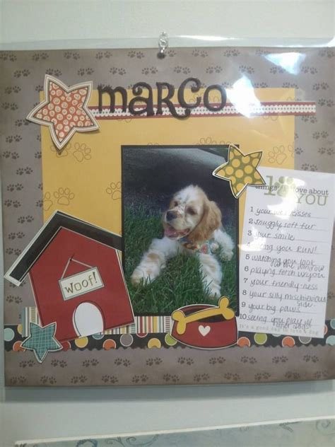 scrapbook layout ideas for pets 1232 best images about dog scrapbooking on pinterest