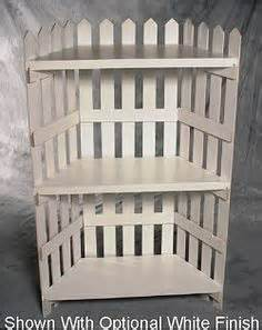 Picket Fence Shelf by Shelves To Make On Picket Fences Shelves And