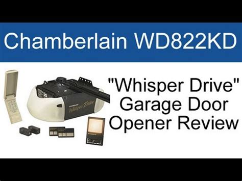 Chamberlain Garage Door Opens And Closes By Itself by Chamberlain Wd822kd Garage Door Opener Review
