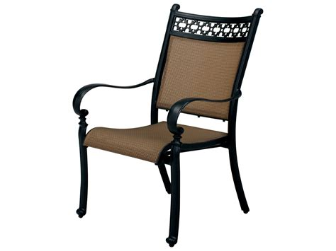 aluminum dining chairs darlee outdoor living standard mountain view cast aluminum