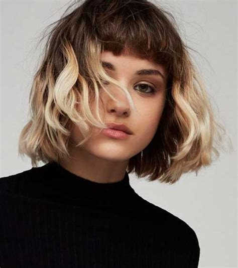 hairstyles colored bangs unique colored bob hairstyles you should see bob