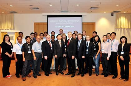 Erau Mba Airlines Management by Singapore Aviation Academy