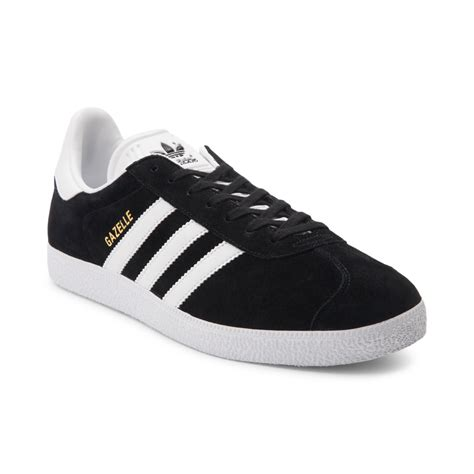 mens black athletic shoes mens adidas gazelle athletic shoe black 436218
