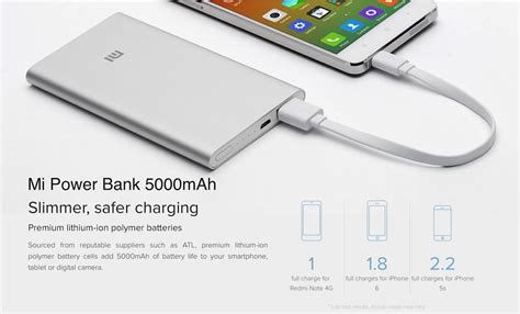 Power Bank Mi 5000mah xiaomi mi power bank 5000mah 10000mah 16000mah 200 end 9