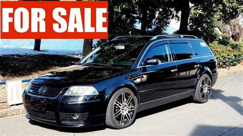 Passat W8 For Sale by For Sale 2003 Volkswagen Passat W8 Estate 4 Motion