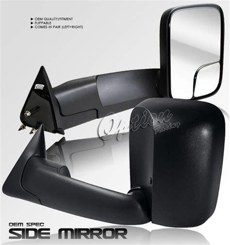 ram 1998 2002 manual towing mirrors black