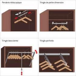 placard rangement installer une penderie dans le dressing