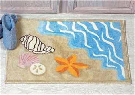 Seashell Bathroom Rug Bathunow Shop Bath And Home Accessories